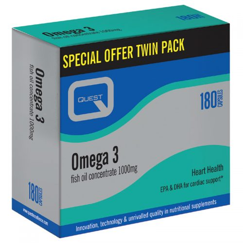 Quest Omega 3 Fish Oil Twin Pack